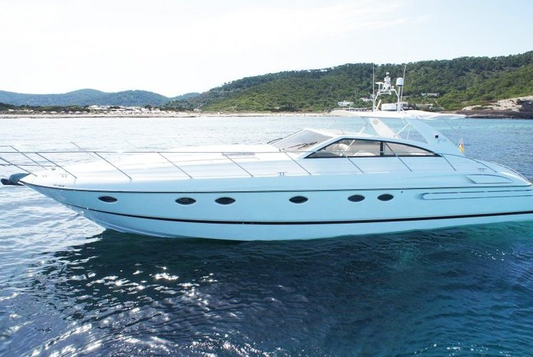 Discover Ibiza with this Princess V55!