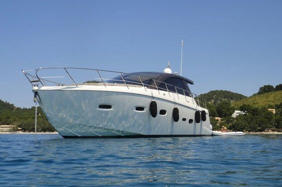 Charter this Gorgeous Modern Yacht in Ibiza