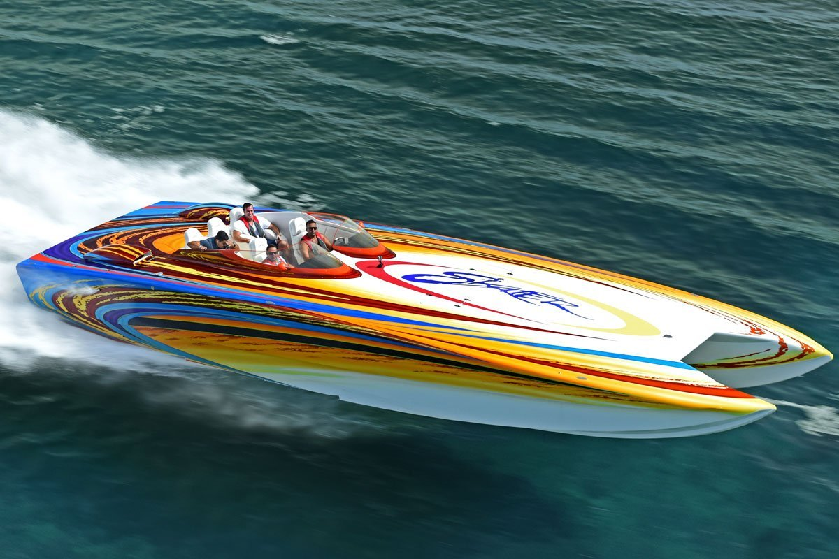 46 Skater Luxury Speed Boat For Charter In Miami