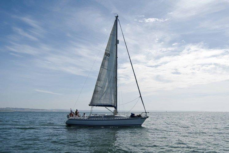 40.0 feet Beneteau in great shape