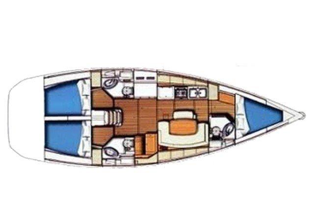 Boat for rent Beneteau 43.0 feet in Genova,