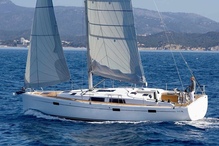 Sail Ibiza in Luxury with this Hanse 415