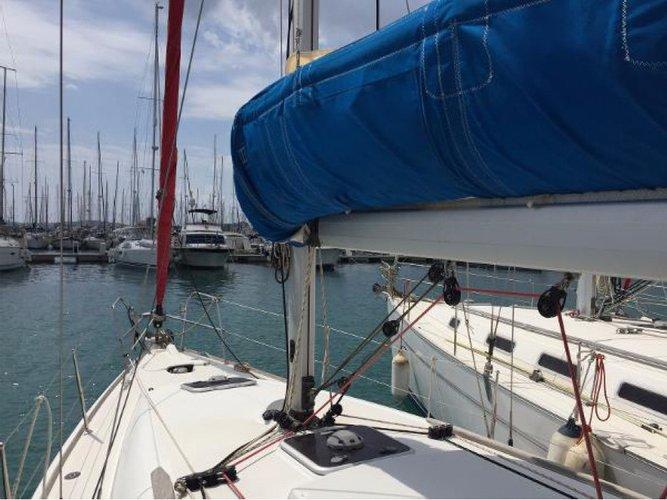 Cruiser boat rental in Olympic Marine, Greece