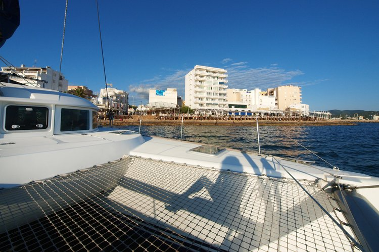 Catamaran boat rental in Palma de Mallorca, Spain