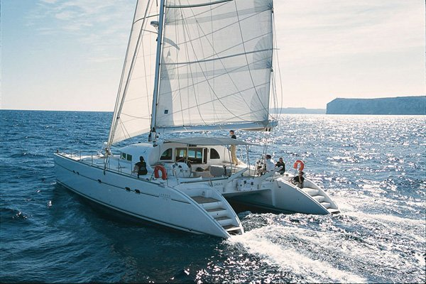 Sail Away with This Stunning Catamaran Lagoon 570