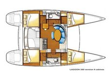 thumbnail-7 Lagoon 36.0 feet, boat for rent in Palma de Mallorca, ES