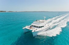 Best of The Balearics with This Lagoon Power 44!