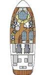 thumbnail-11 Azimut / Benetti Yachts 39.0 feet, boat for rent in Zadar region, HR