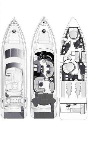 This 62.0' Azimut / Benetti Yachts cand take up to 6 passengers around Peloponnese