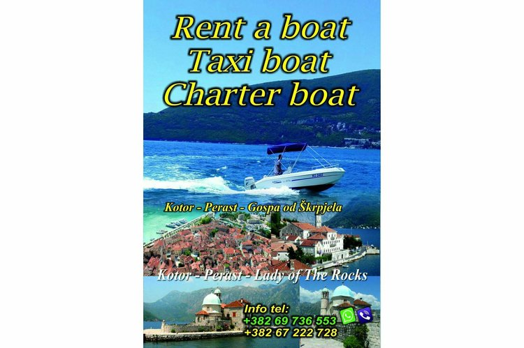 Boat rental in Herceg Novi,