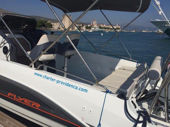 Boat for rent Bénéteau 21.0 feet in Marina Trogir – ACI,