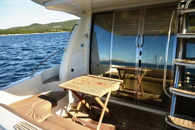 Motor yacht boat rental in Marina Tribunj, Croatia