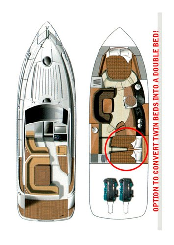 Boat for rent Fairline Boats 39.0 feet in Marina Mandalina, Sibenik,