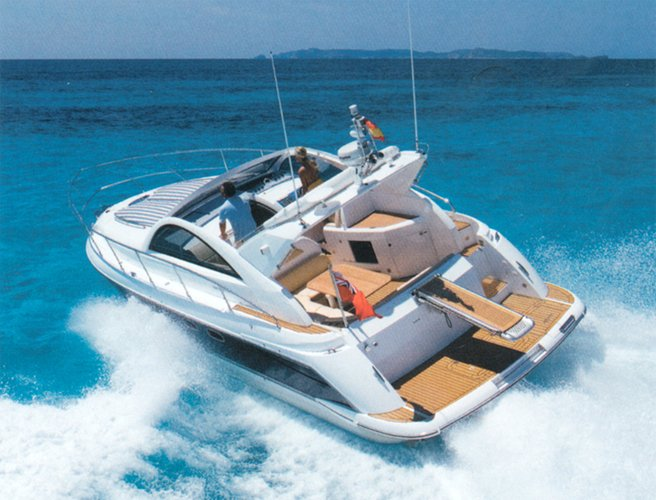 Discover Šibenik region surroundings on this Fairline Targa 38 Fairline Boats boat
