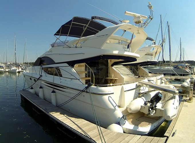 51.0 feet Fairline Boats in great shape