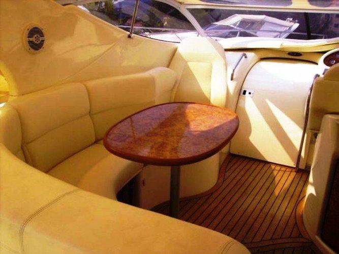 Discover Liguria surroundings on this Gobbi 315SC Gobbi boat