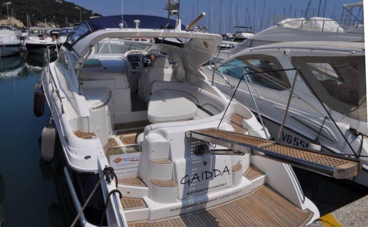 Motor yacht boat rental in Liguria, Italy