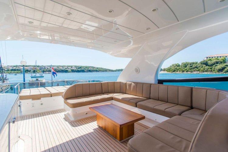 This 75.0' Maiora - Fipa Group cand take up to 7 passengers around Split region
