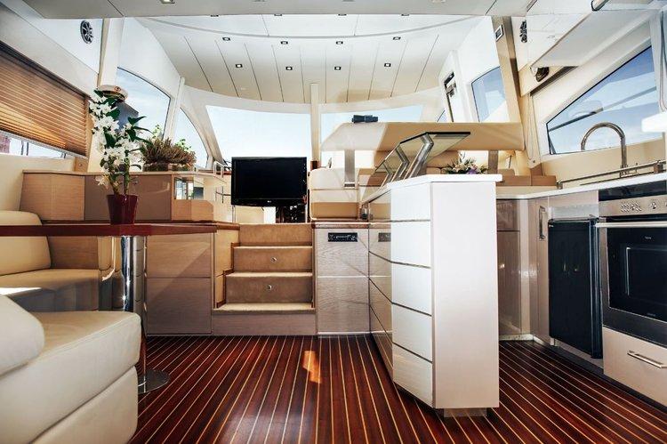 Motor yacht boat rental in Athens - Marina Alimos (Kalamaki),