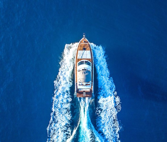 Enjoy a Day on a Luxury Italian Motor Yacht