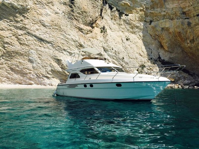 Experience Peloponnese on board this amazing Princess Yachts