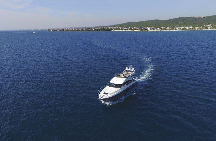 Boat for rent Princess Yachts 59.0 feet in Marina Dalmacija, Sukosan,