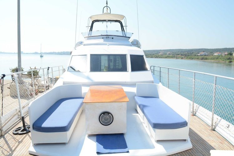 Discover kyllini surroundings on this San Lorenzo 66 San Lorenzo boat