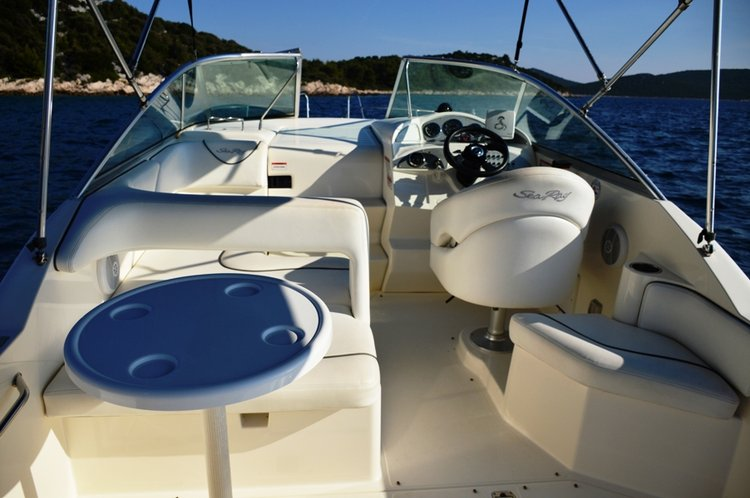 Boat for rent Sea Ray Boats 26.0 feet in Marina Tribunj, Croatia