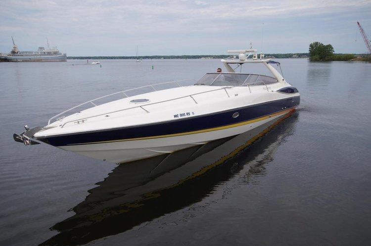Discover Split region surroundings on this Sunseeker Superhawk 48 Sunseeker International boat