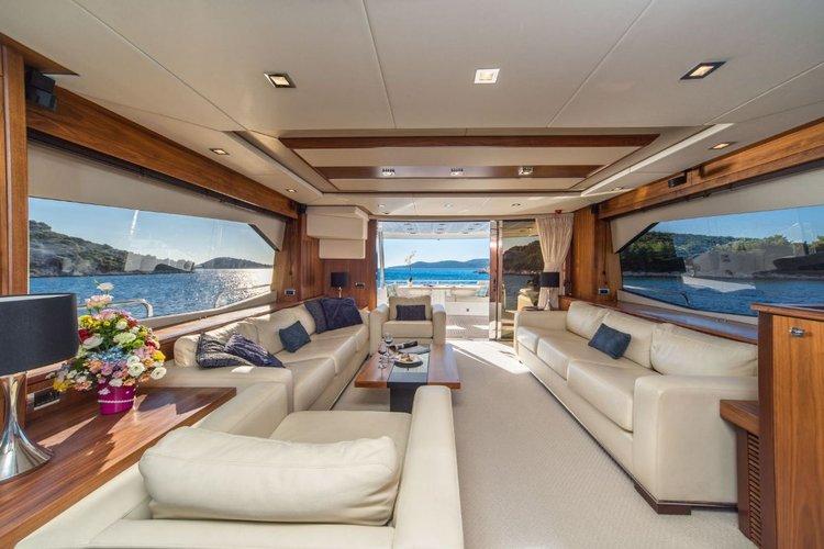 Boat for rent Sunseeker International 80.0 feet in Marina Tribunj,