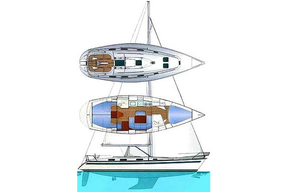 Boat for rent Bavaria 38.0 feet in Marina Alimos (Kalamaki), Greece