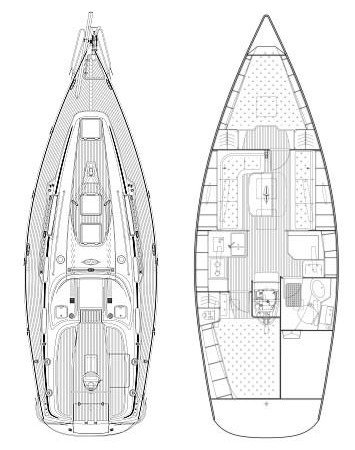 Discover Cyclades surroundings on this Bavaria 34 Cruiser Bavaria Yachtbau boat