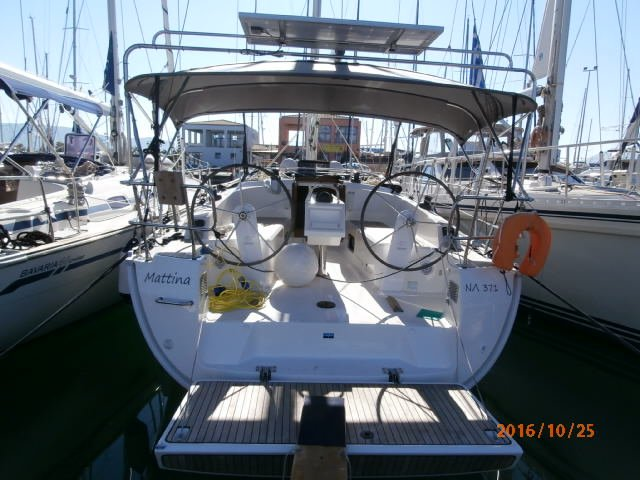 This 37.0' Bavaria Yachtbau cand take up to 7 passengers around Ionian Islands