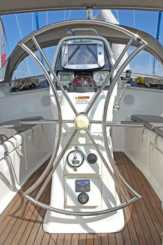 Discover Cyclades surroundings on this Bavaria 37 Cruiser Bavaria Yachtbau boat