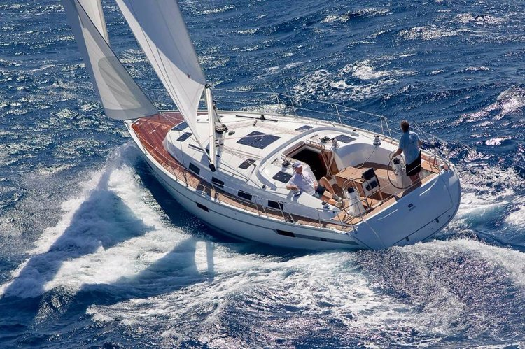 Enjoy luxury and comfort on this Bavaria Yachtbau in Sardinia