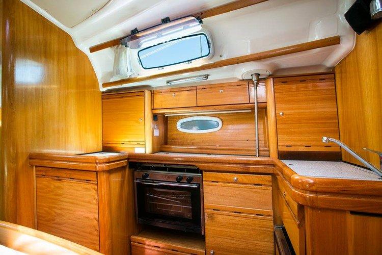 Discover Saronic Gulf surroundings on this Bavaria 42 Cruiser Bavaria Yachtbau boat