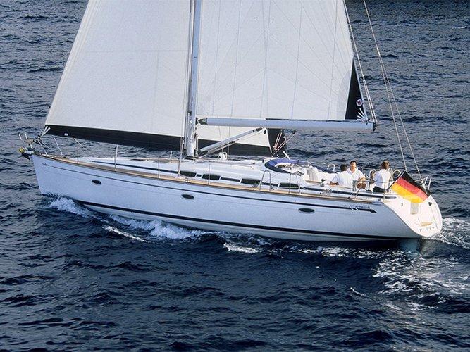 This 47.0' Bavaria Yachtbau cand take up to 8 passengers around Šibenik region