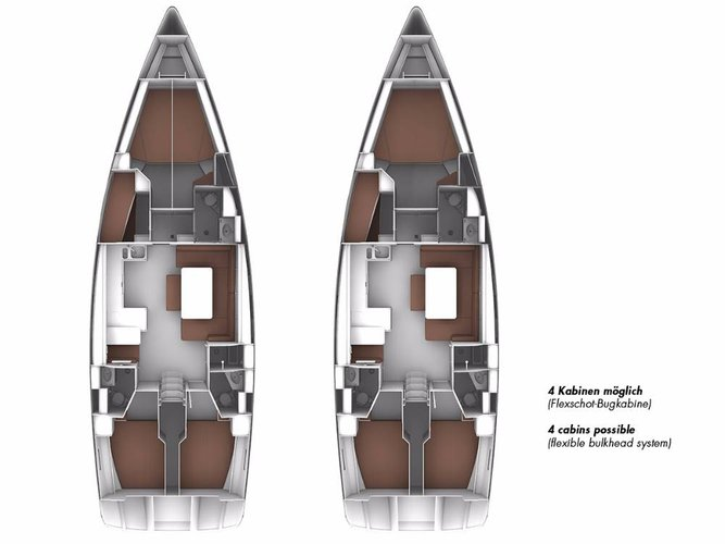 This 49.0' Bavaria Yachtbau cand take up to 11 passengers around Aegean