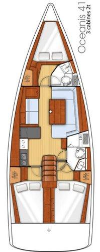 Boat for rent Bénéteau 40.0 feet in Corfu (Gouvia marina),