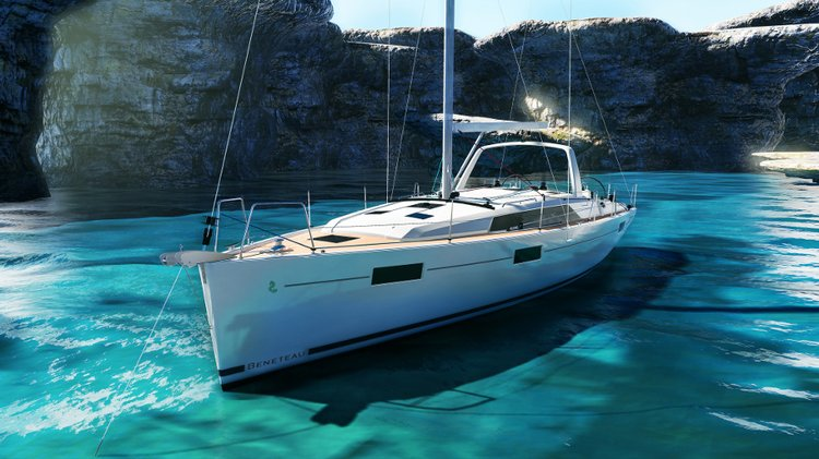 Jump aboard this beautiful Bénéteau Oceanis 41.1