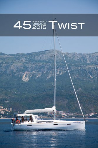 Beneteau boat for rent in Montenegro