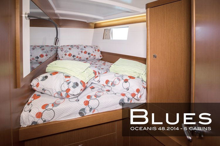 Discover Montenegro surroundings on this Oceanis 48 Bénéteau boat