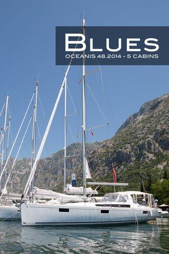 Beneteau boat for rent in Montenegro