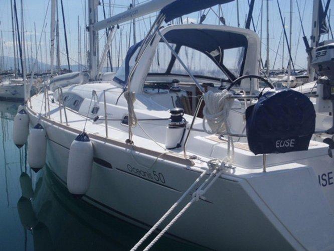 Discover Split region surroundings on this Oceanis 50 Bénéteau boat
