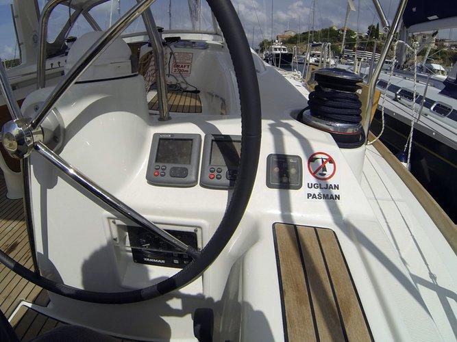 Boat for rent Bénéteau 50.0 feet in Marina Mandalina, Sibenik,