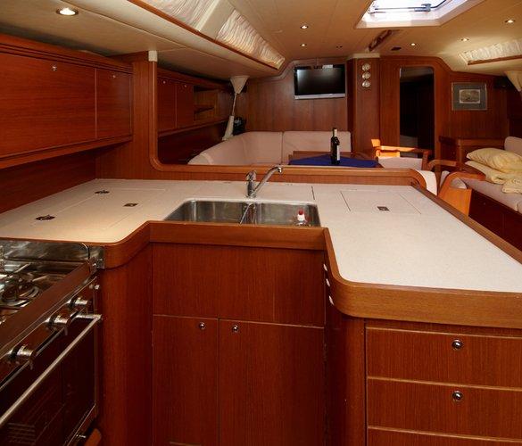 Discover Šibenik region surroundings on this Grand Soleil 56 Cantiere Del Pardo (Grand Soleil) boat