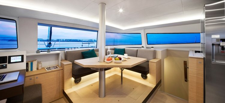 Discover Split region surroundings on this Bali 4.5 Catana boat