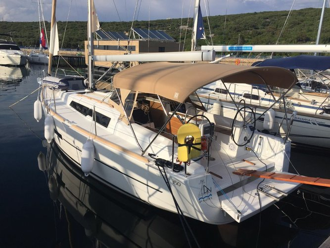 Discover Kvarner surroundings on this Dufour 350 GL Dufour Yachts boat