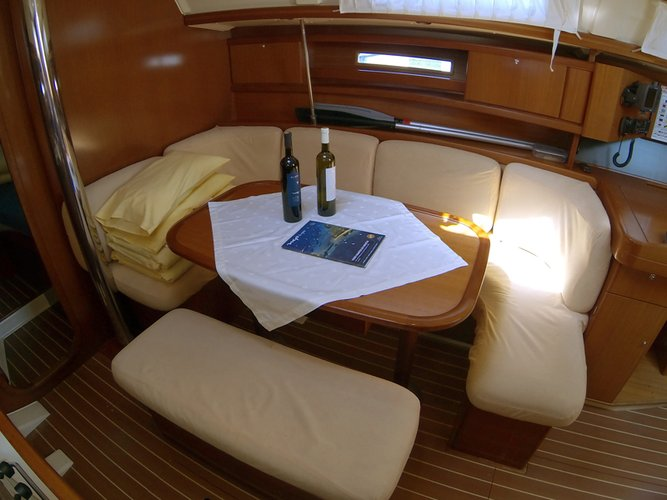 Discover Šibenik region surroundings on this Dufour 365 GL Dufour Yachts boat
