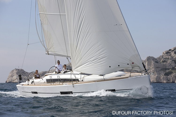Take this Dufour Yachts Dufour 412 GL for a spin !